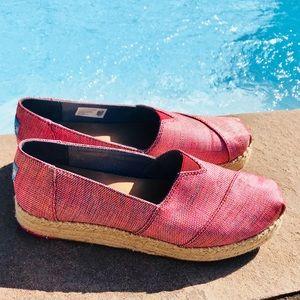 TOMS Alpargata Espadrilles Slip On Shoes
